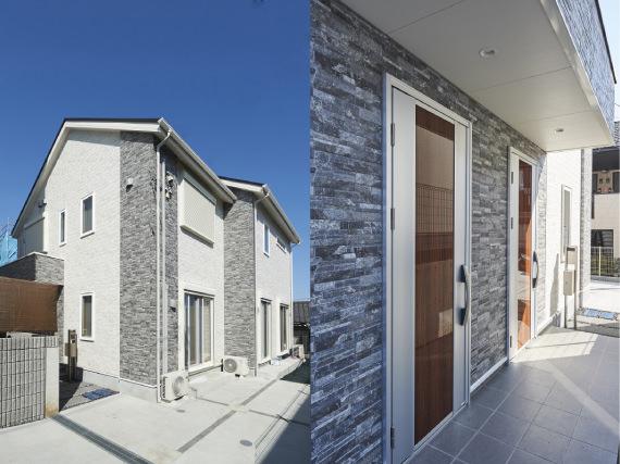 二世帯住宅外観