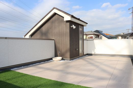 IMG 0707 522x348 - 土地を最大限に活かした「屋上のある家」